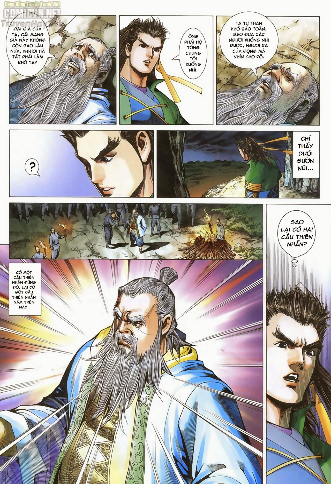 Anh Hùng Xạ Điêu anh hùng xạ đêu chap 69: hồn đoạn thiết chưởng phong trang 17