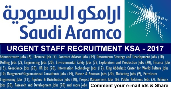 opportunities at aramco