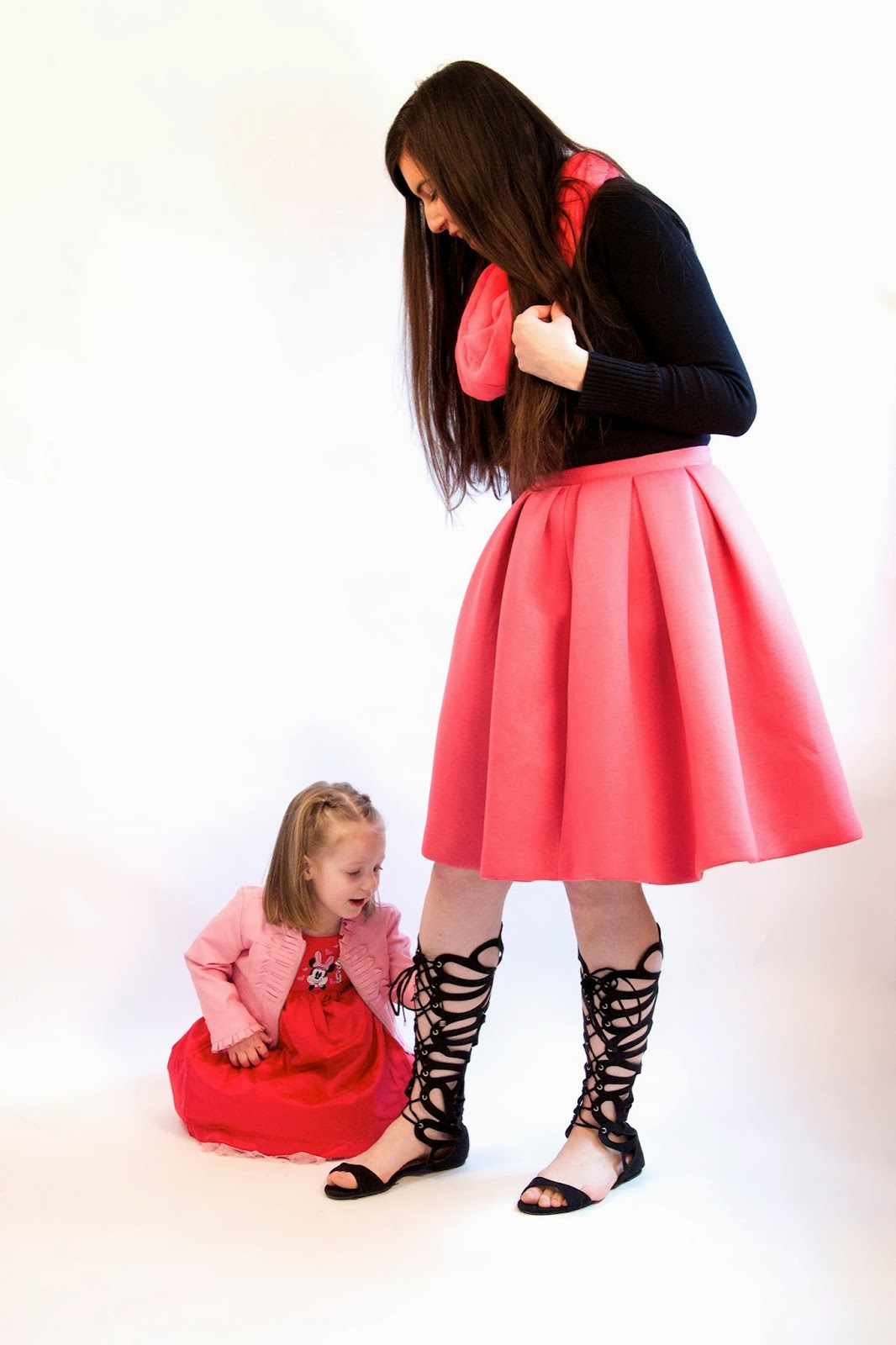a line skirt, aline skirt, kids outfit, girls outfits, cute little girl, little girls dresses, girls dresses, asymmetrical skirt, choies, choies skirt, pink pleated skirt, pink poofy skirt, pink skirt,