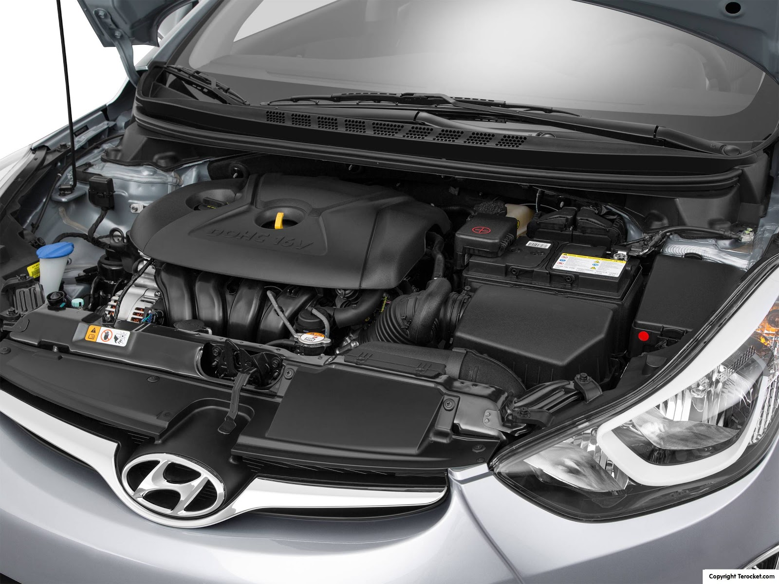 Động cơ của Hyundai Elantra 2016 phải nói là vừa phải, phù hợp