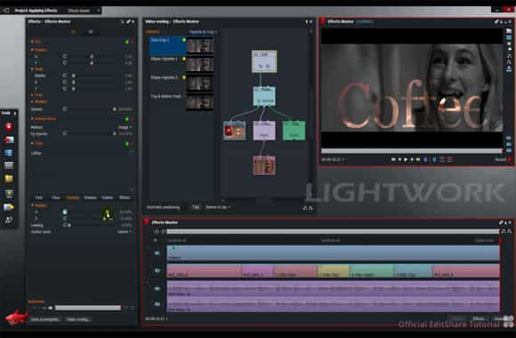 aplikasi video editor lightwork