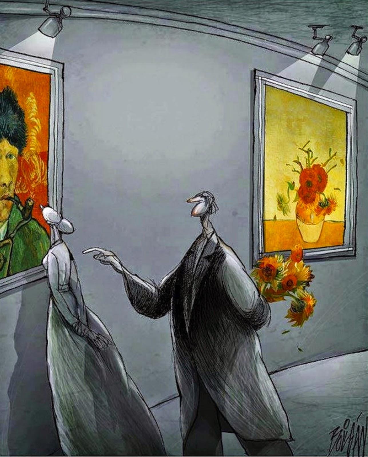 Angel Boligan - Sátira Surrealista | Van Gogh
