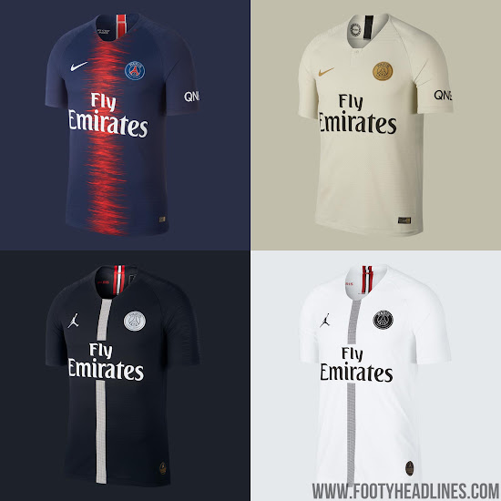 newest fb858 15fe8 Jordan PSG 19-20 Fourth Kit Design + Training Items Leaked ...