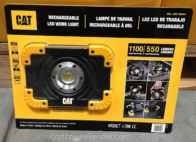 Cat Rechargeable LED Work Light - great for the garage or workshop