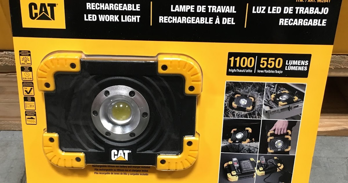 Cat Rechargeable Led Work Light Costco