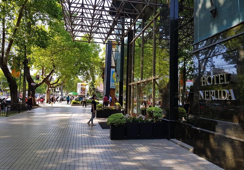 Os melhores hotéis de Santiago, Providencia