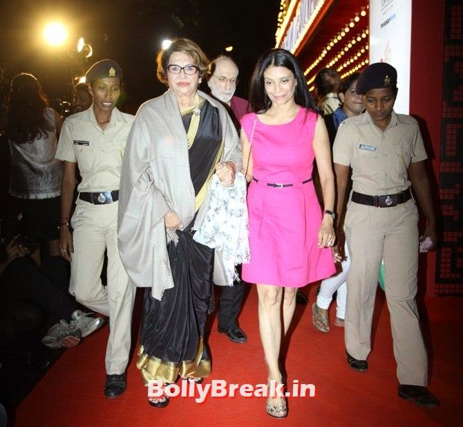 Helen, Zarina Mehta, Mumbai Film Festival 2014 Photos