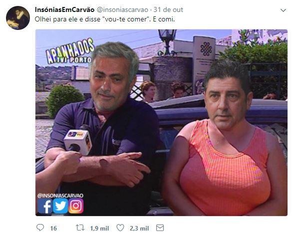 José Mourinho e Rui Vitória