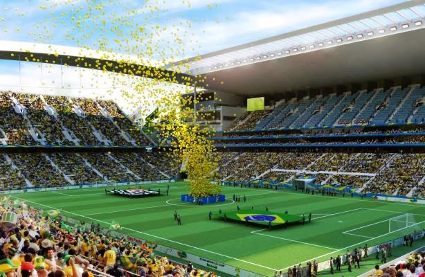 Arena de São Paulo - Brasil - Copa do mundo 2014