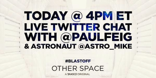 Other Space #BlastOff Livetweet at 4pm 4/14 with Special Guests!