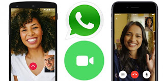 Cara Video Call WhatsApp iPhone