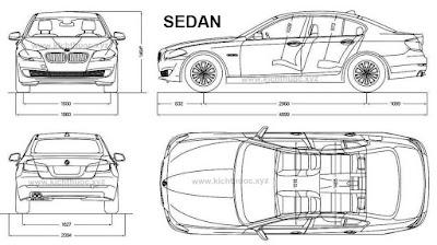 kich thuoc xe bmw 5 series sedan