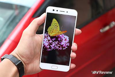 Đánh giá màn hình điện thoại Oppo F3