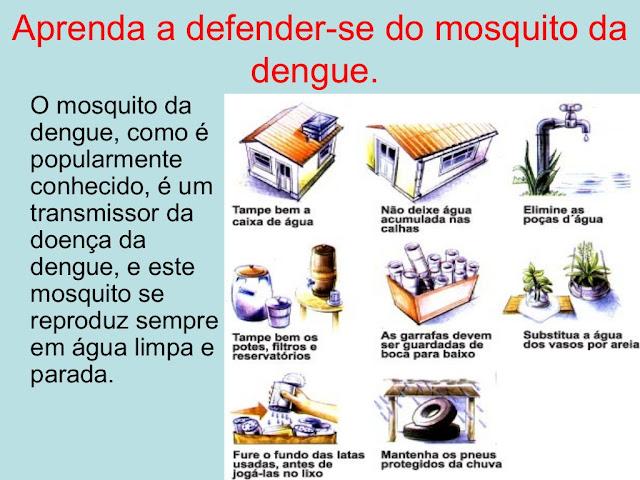 Prevenção contra a dengue