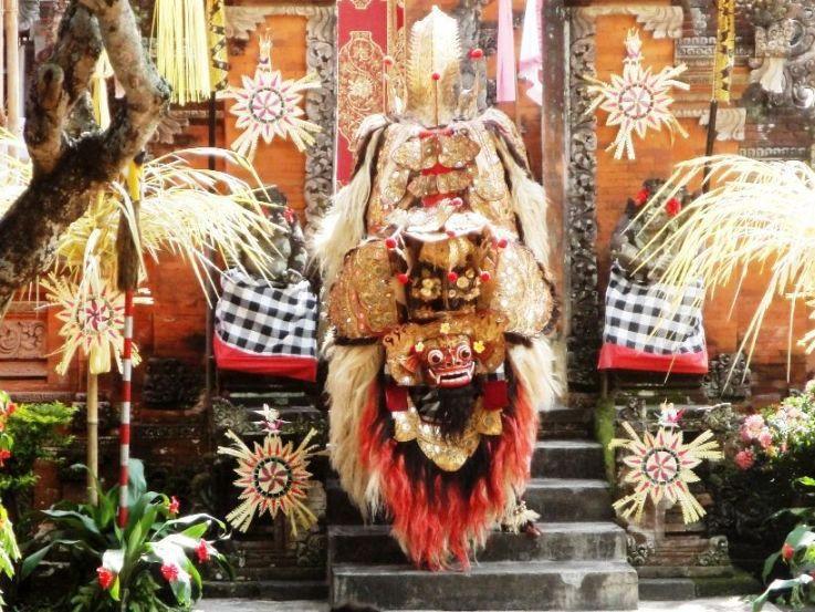 Tarian Barong Dan Keris Desa Batubulan - Desa Batubulan Gianyar Bali, Liburan, Perjalanan, Objek Wisata
