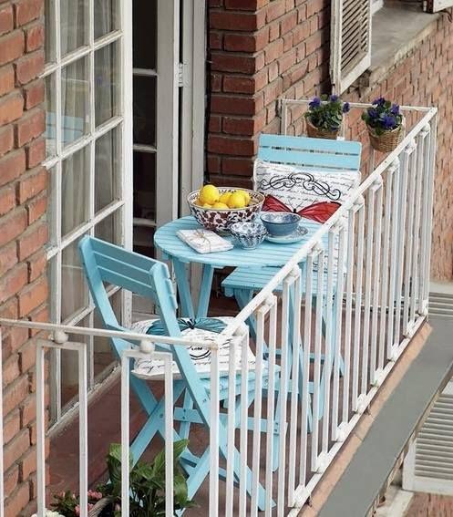 jak odmienić mały balkon?