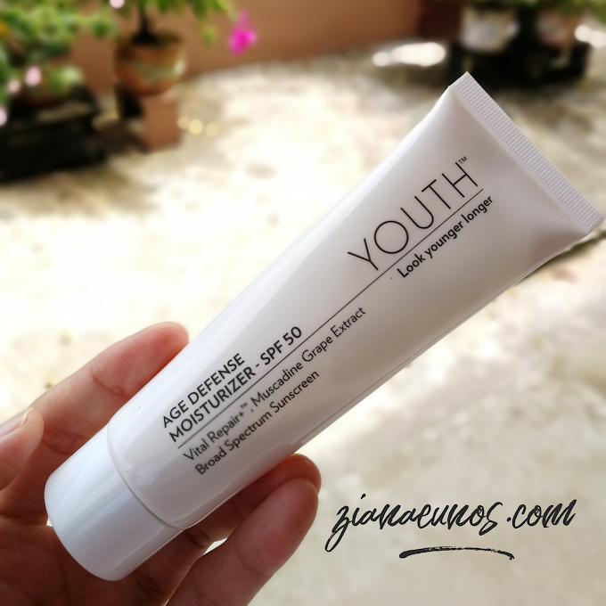 Review Age Defense Moisturizer SPF 50 Youth Shaklee