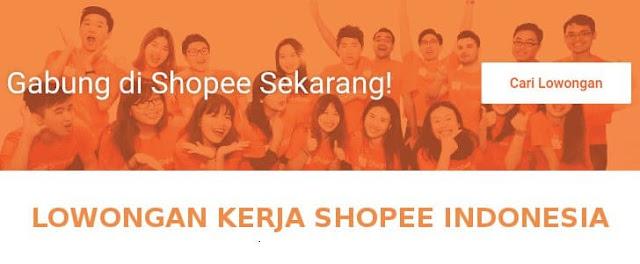 lowongan pekerjaan shopee indonesia