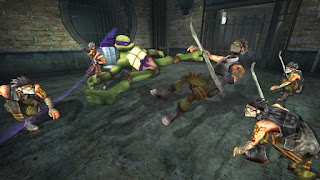 Download TMNT - Teenage Mutant Ninja Turtles Europe (M5) Game PSP for Android - www.pollogames.com