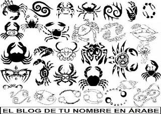 Horoscopes para tatuajes: Cancer