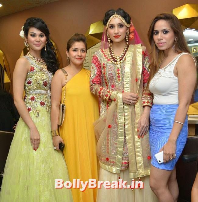 Kasturi, Vaishali, Aanchal Oberoi and Nancy Miglani, Hair and Makeup Studio 'ANGE', Launch Pics