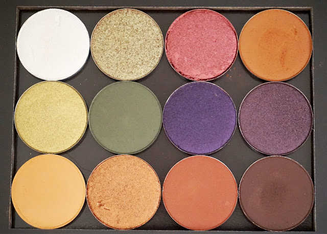 ColourPop Pressed Powder Eyeshadows | bellanoirbeauty.com