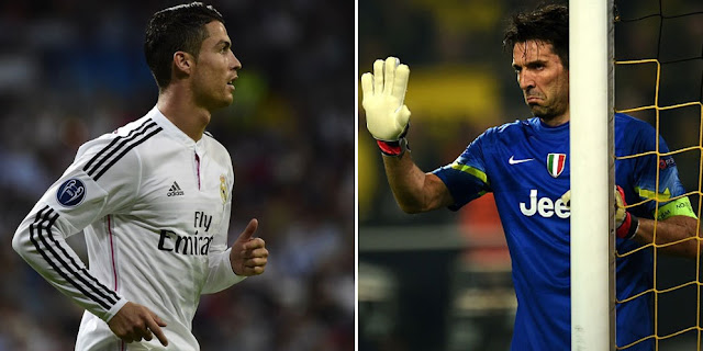 Buffon and Ronaldo