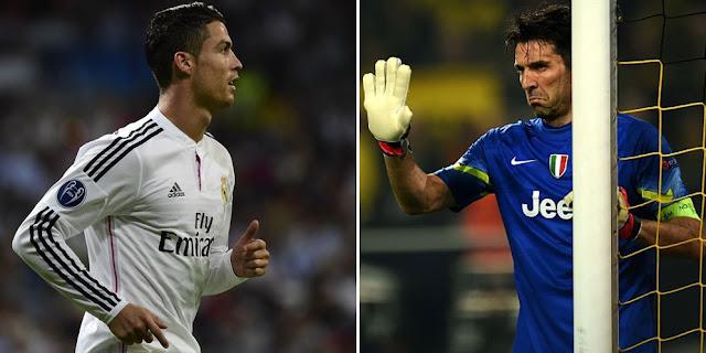 Buffon and Ronaldo