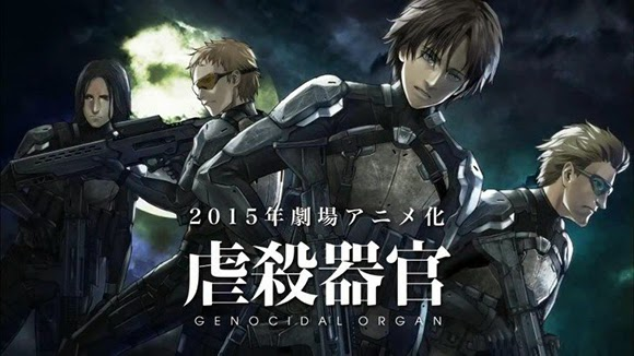 Genocidal organ -11 anime movie terbaik 2015