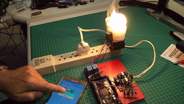 Controle 68 pontos de energia com Arduino Mega e ESP8266