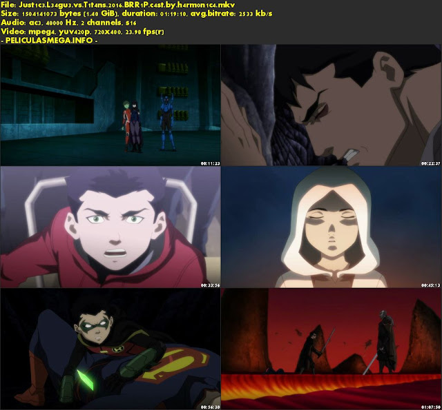 Descargar Justice League vs. Teen Titans Castellano por MEGA.