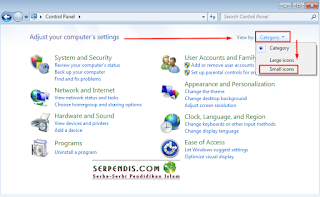 Instal Font Arabic di Windows 7