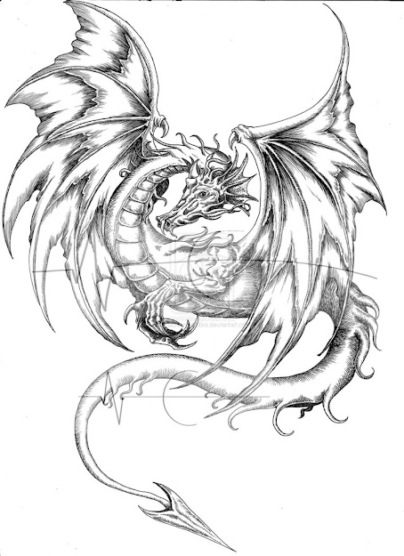 Chinesedragondrawings  Medieval Dragon Coloring Pages  Coloring Pages   Pictures