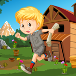Games4King Cute Little Boy Rescue Walkthrough
