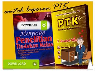 Contoh Laporan PTK ( Penelitian Tindakan Kelas ) dengan Berbagai Metode
