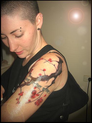 Cherry Blossom Tattoo Designs: Cherry Blossom Tattoos Designs