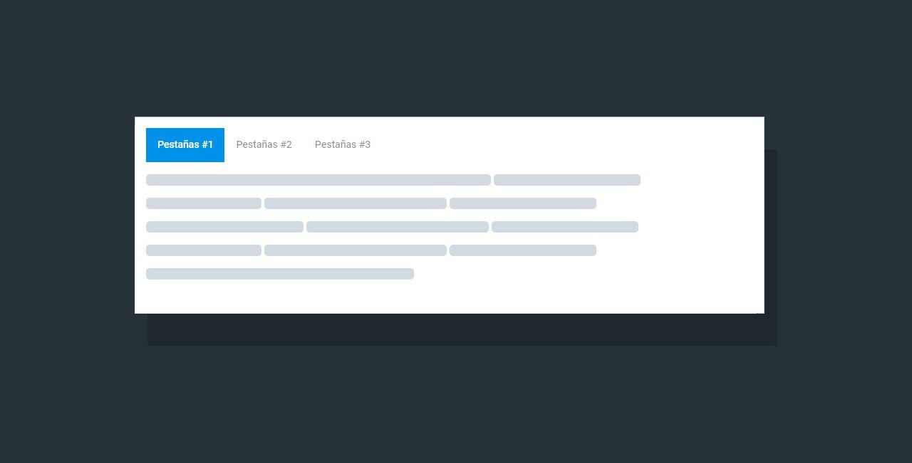 Organiza el contenido de tu post agregando pestañas (tabs)