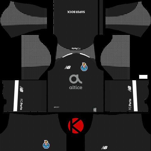 0e0a36b97d2 FC Porto 2018 19 Kit - Dream League Soccer Kits - Kuchalana
