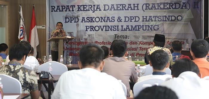 Provinsi Lampung adakan Rakerda II DPD Askonas
