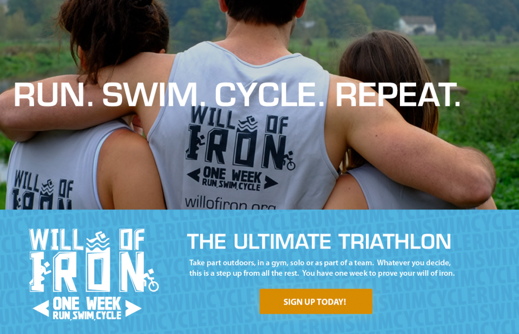Triathlon Advert