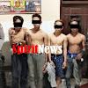 Anggota Dit Sabhara Polda Sulsel Berhasil Menangkap 5 Pemuda Mabuk
