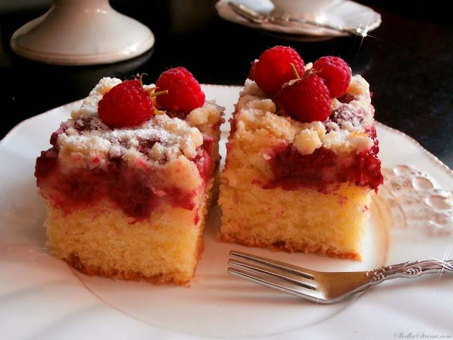 Najlepsze Proste Ciasto Ucierane z Owocami - Przepis - Słodka Strona
