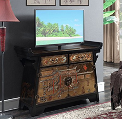 Chinoiserie Style TV Cabinet