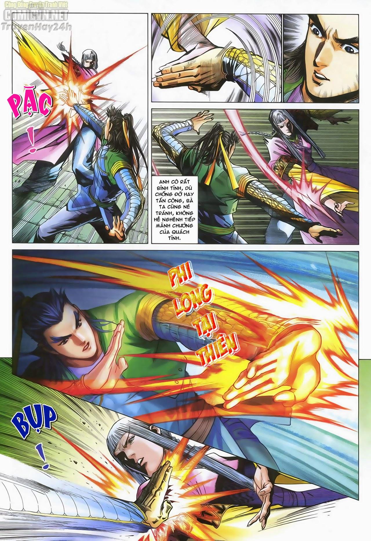 Anh Hùng Xạ Điêu anh hùng xạ đêu chap 70: hắc chiểu ẩn nữ trang 25
