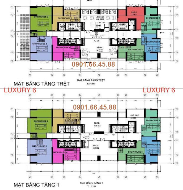 mat bang shophouse vinhomes golden river luxury 6