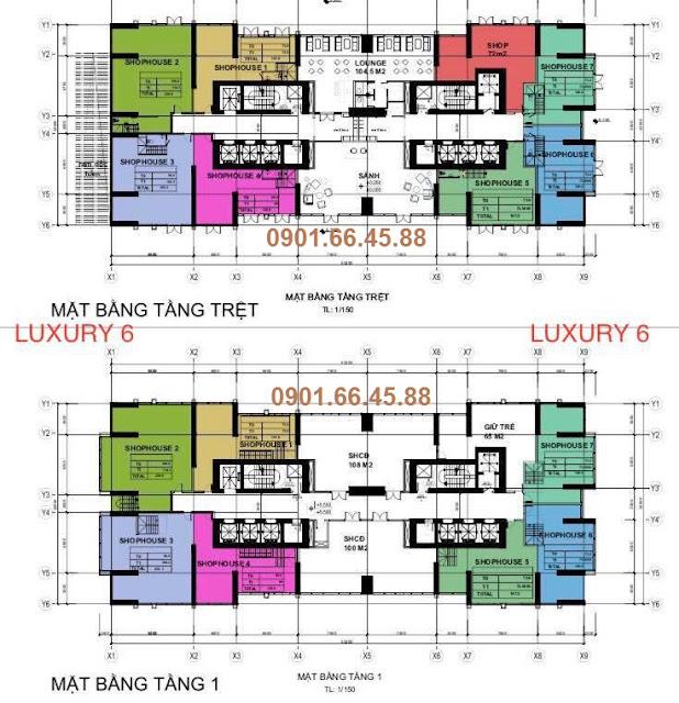 mat bang shophouse vinhomes golden river luxury 6