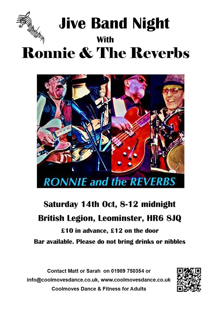 Jive dance night with Ronnie & The Reverbs
