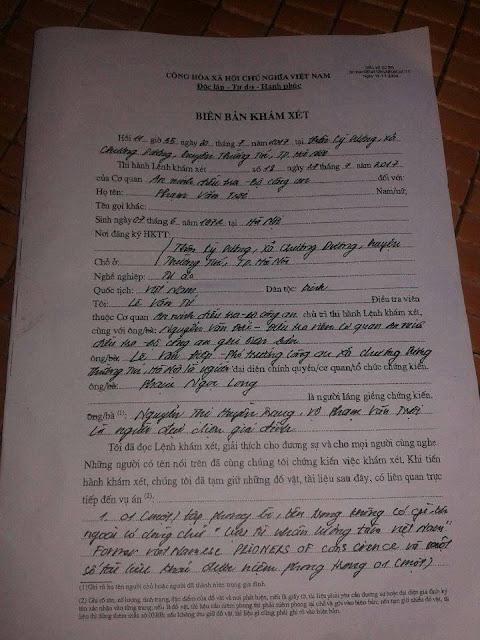 Phạm Văn Trội bị bắt vì tội hoạt động lật đổ chính quyền