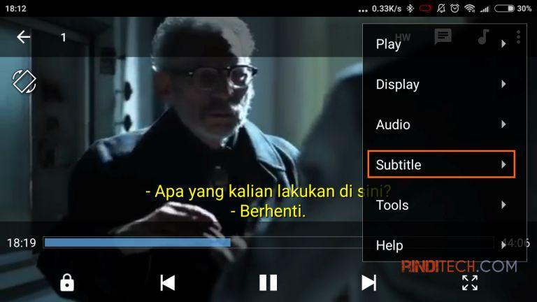 Cara Nonton Film Dengan Subtitle Atau Text Translate Di Hp Rindi Tech