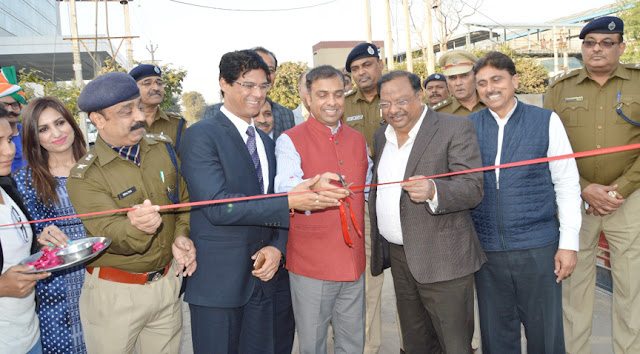 Police Commissioner Faridabad, Dr. Hanif Qureshi inaugurated the Traffic Park and ACP Traffic Office